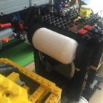 [MOD] Air Tech Claw Rig (LEGO® Technic 8868) modded with Airtank