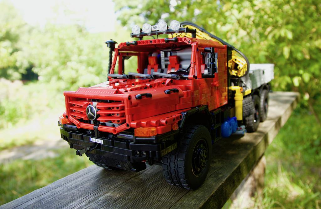 Moc Mercedes Zetros 2733 66 With Loader Crane Full Rc Lc Jrx