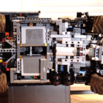 A look behind the curtain: Inside Lego® Technic Zetros MOC