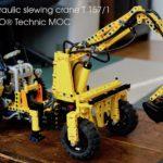 [MOC]Hydraulic slewing crane T157/1